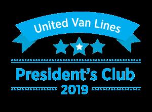 United Van Lines Presidents Club Logo